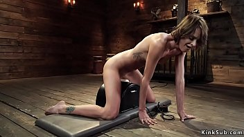 Watch video sex new Slim brunette ides machine and sybian