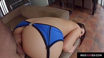 Wendy Moon gets her ass drilled gonzo style in anal scene