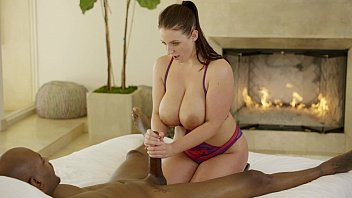 BLACKED First Interracial For Model Marley Brinx  #3338