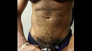xxarxx Black hairy Muscle Chest