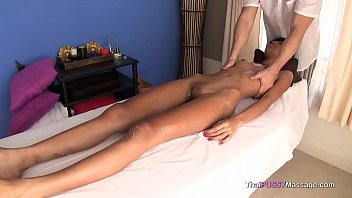 Gets her pussy filled with his hot cum