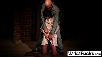 thumb Marica Gets Stripped And Fondled In The Basement