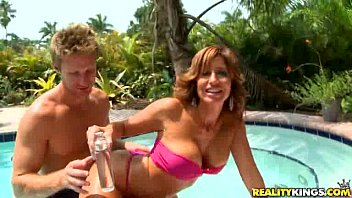 Tara is ready to mingle in wet holiday by milfhunter
