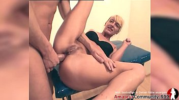PISS and SQUIRT with weird MILF