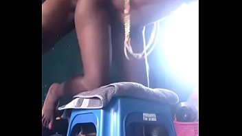 Fucking a nice african teen pussy on a...