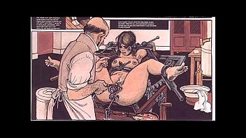 xxarxx Vintage Breast Fetish Bondage Comic