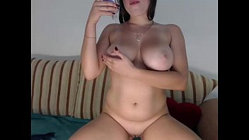 Curvy Girl With Big Natural Breasts