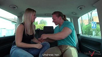 Young hottie fucked in a van