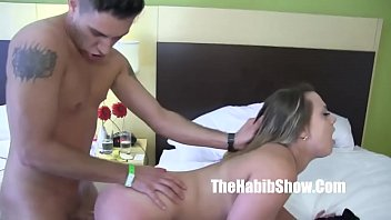 Maria Jade getting fucked by huge white dick bradknight