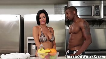 Interracial analized milf riding stepsons BBC | Video Make Love