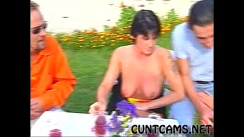 Grannies Have an Outdoor Orgy - More at cuntcams.net