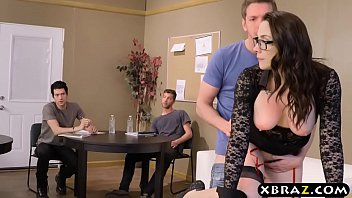 Download video sex hot Professor gangbanged and double stuffed by her students HD online