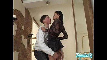 Brother fuck his sister in hallway - WWW.FAPLIX.COM