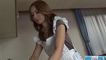 Shiori Ayase spins some tasty dick into her wet cherry More at