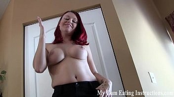 Cum twice and eat both loads for me CEI