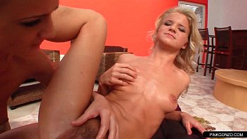 Blonde lady freaky...