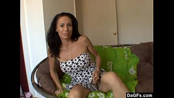 Milf pleases herself cause husband can't do it)