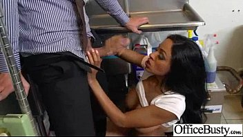 Intercorse Sex Action With Busty Horny Office Cute Girl (anya ivy) movie-06