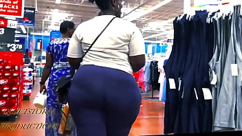 fat booty african women candid