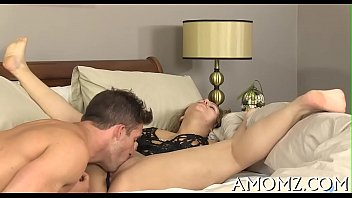 Mature sweetheart moans and acquires off...