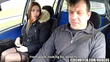 thumb Lovely Whore Gets Fucked In Car