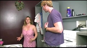 cover video Busty Teen Handjob In The Laundry Room