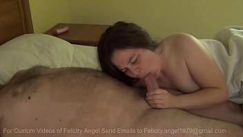 Felicity Angel Gives BJ And Swallows Every Drop Of Cum