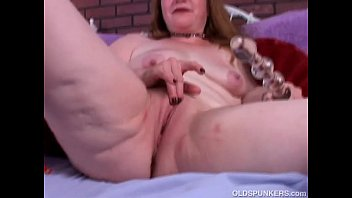 Kinky old spunker in sexy stockings strips and ...