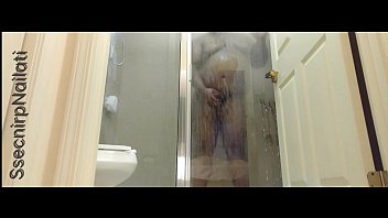 Video sex hot Brown man taking a shower high quality