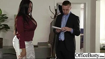 Hardcore Sex In Office With Bigtits Nasty Wild Girl vid-14