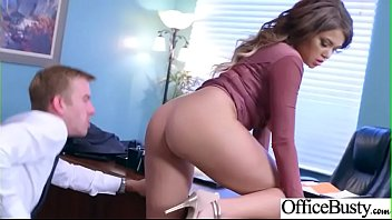 Hardcore Sex In Office With Big Round Tits Slut Girl (Cassidy Banks) clip-10
