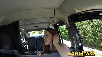 Fake Taxi Redhead gets dirty with future sugar daddy