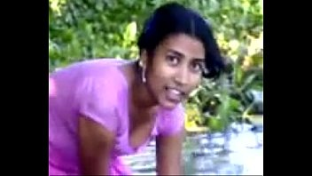 Village girl bathing in river showing assets favoritevideos.in