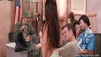 thumb Sexy Army Milf Getting Attention
