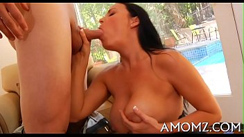 Older babe gives a avid ride...