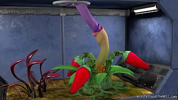 Mouth Tentacle Plant