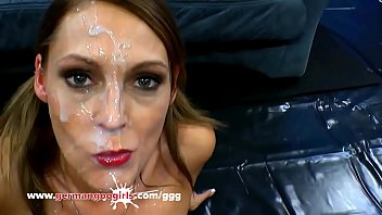 Jamie Jadon busty Love swallow facial GermanGooGirls