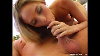 Gorgeous blonde babe gets penetrated