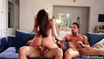 Repo guys let busty milf pay by fucking