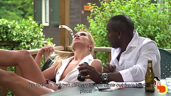 Cherry Kiss invited to an anal and DP threesome with Vince Karter and Joss Lescaf