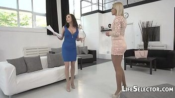 Two EU Babes Vs One Big Cock - Henessy, Cherry Kiss