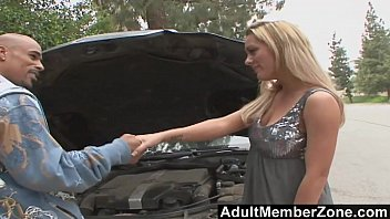 AdultMemberZone - She Can't Resist His Big Black Cock
