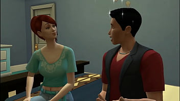 Sims 4 - Common days in family | If it&#039_s ok for them then it&#039_s ok for us my big boy