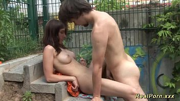 young german couple public sex