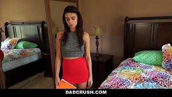 DadCrush - Learning How to touch herself from Step-dad  #9163