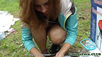 thumb College Babe Fucked At Outdoor Bbq
