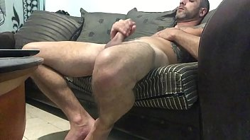 Catches roommate jerking off to gay porn big...