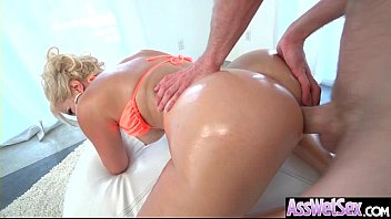 Big Butt Girl (Savana Styles) Get Oiled All Over And Hard Anal Nailed clip-29