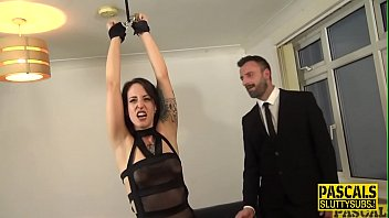 Sub whipped and fucked by master Pascal White