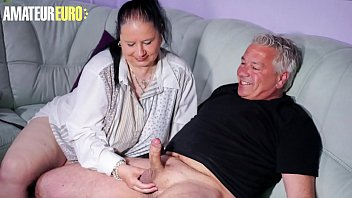 AMATEUR EURO - Cheating BBW Wife Abby Titts Sees An Opportunity And Goes To Fuck With Her Neighbor